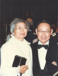 George and Misaki Aki (Courtesy of James Aki)