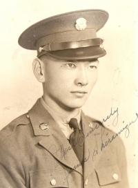 Kiyoshi 'Jimmie' Shiramizu, circa early 1940s [Courtesy of Mel Shiramizu]