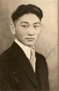 Kiyoshi 'Jimmie' Shiramizu before WWII. [Courtesy of Mel Shiramizu]