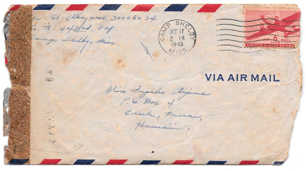 October 16 1943 envelope